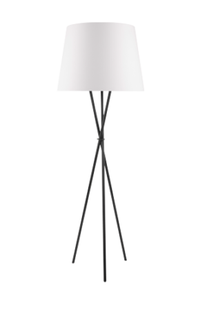 Intergierter Raumluftreiniger Stehlampe Creme farbig